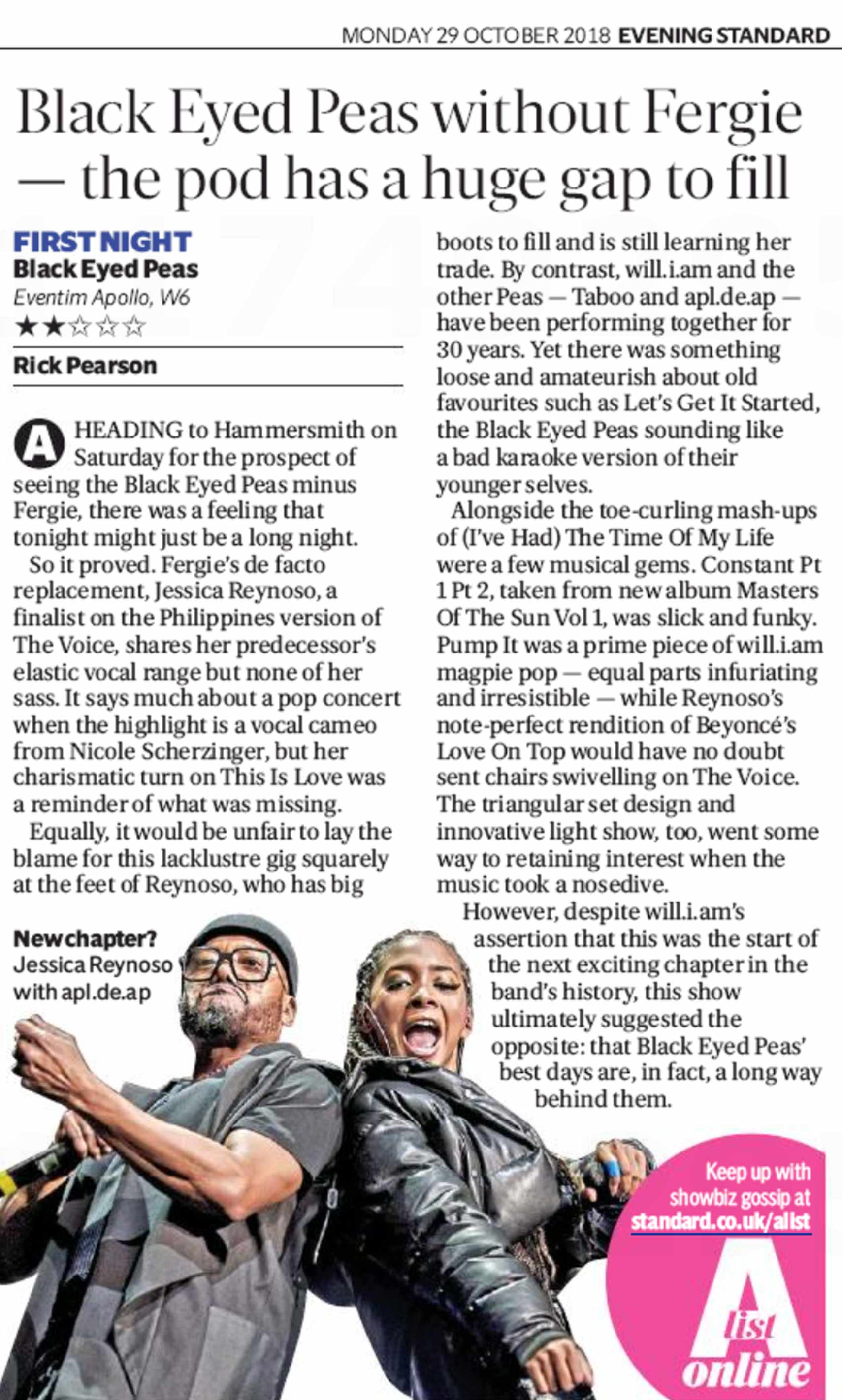 Black-Eyed-Peas-Evening-Standard-review-upload