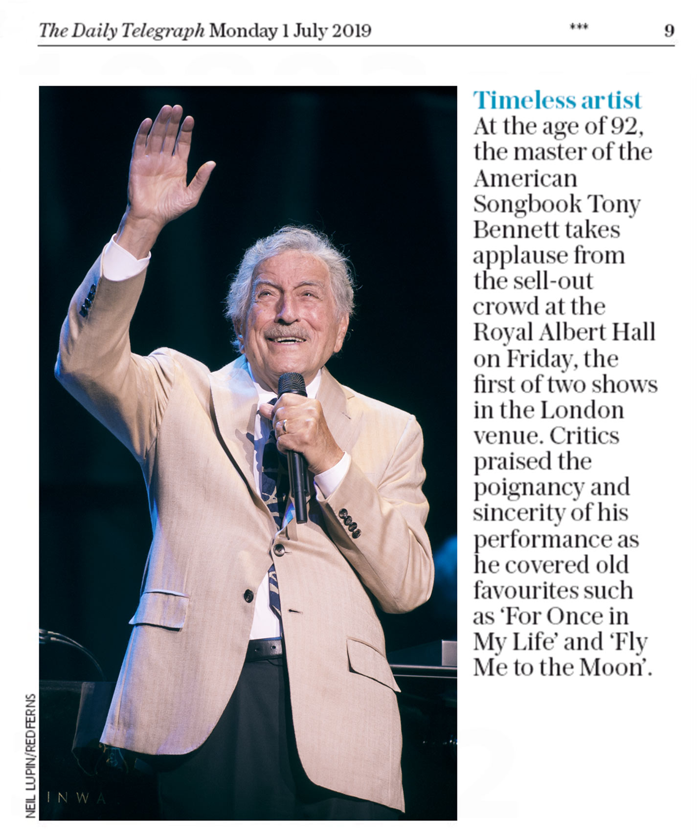 Tony-Bennett-Daily-Telegraph